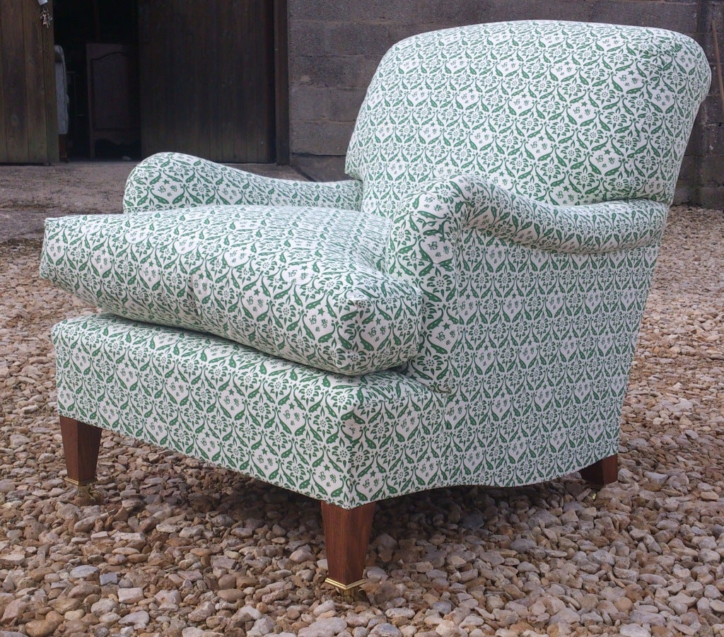 Howard Chairs Deep Seated Bridgwater Chair For Sale 1