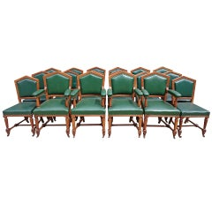 Set of Eighteen, 19th Century Dining Chairs by Thomas Fox of London