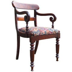 Antique Carver Dining / Desk Chair