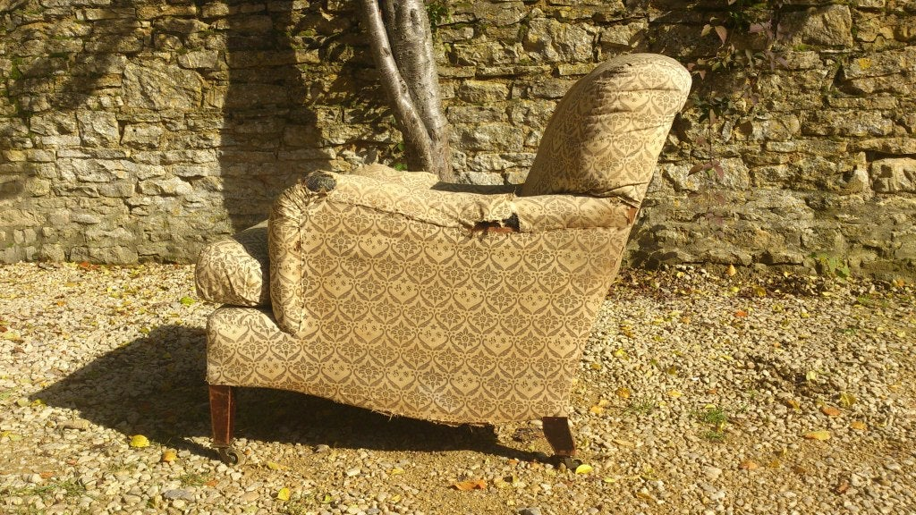 Antique Chair By Howard And Sons Quot Bridgewater Quot Model For