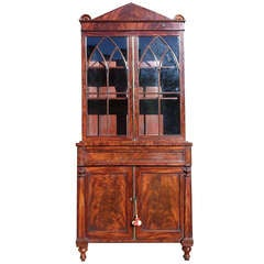 Antique Bookcase / China Cabinet / Drinks Cabinet