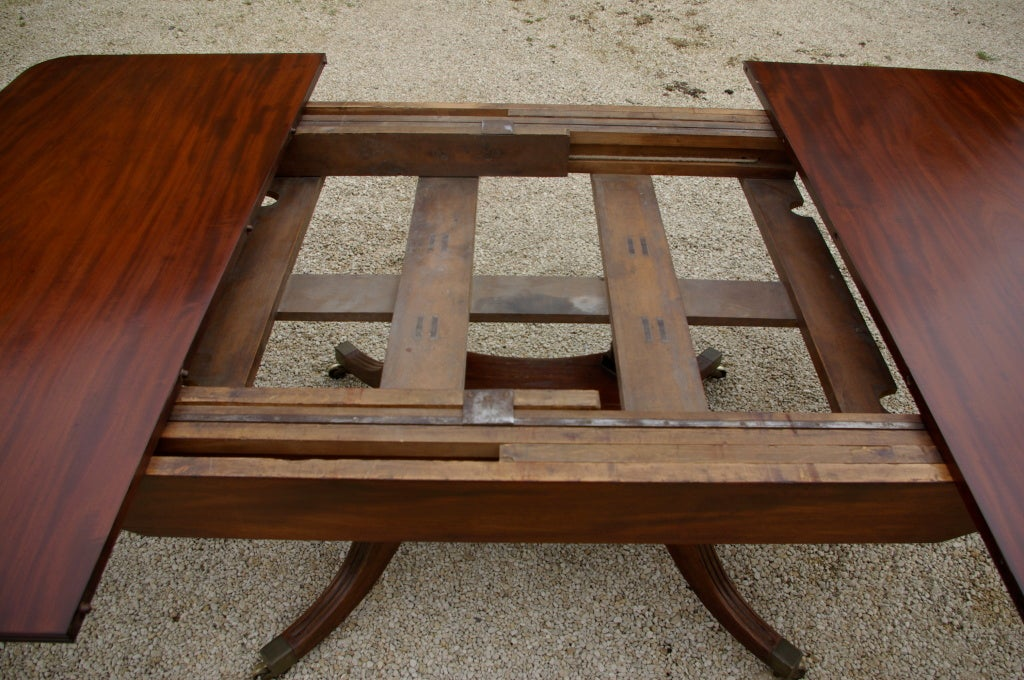 200 Year Old Extending Dining Table With Removable Legs at 1stdibs