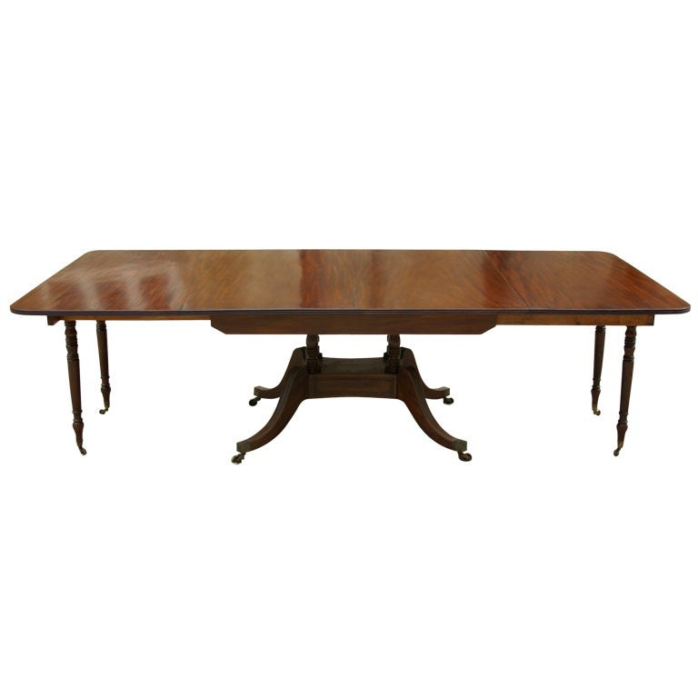 200 Year Old Extending Dining Table With Removable Legs At