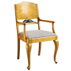 Biedermeier Revival Arm Chair