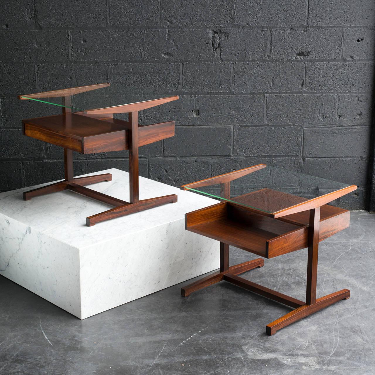Mid century brazilian end tables at 1stdibs - Brazilian mid century modern furniture ...