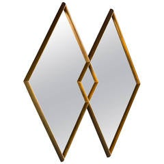 Double Diamond Mirror by La Barge