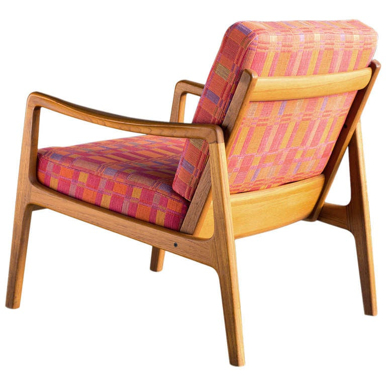 Easy Chair by Ole Wanscher For Sale