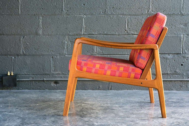 Danish Easy Chair by Ole Wanscher For Sale