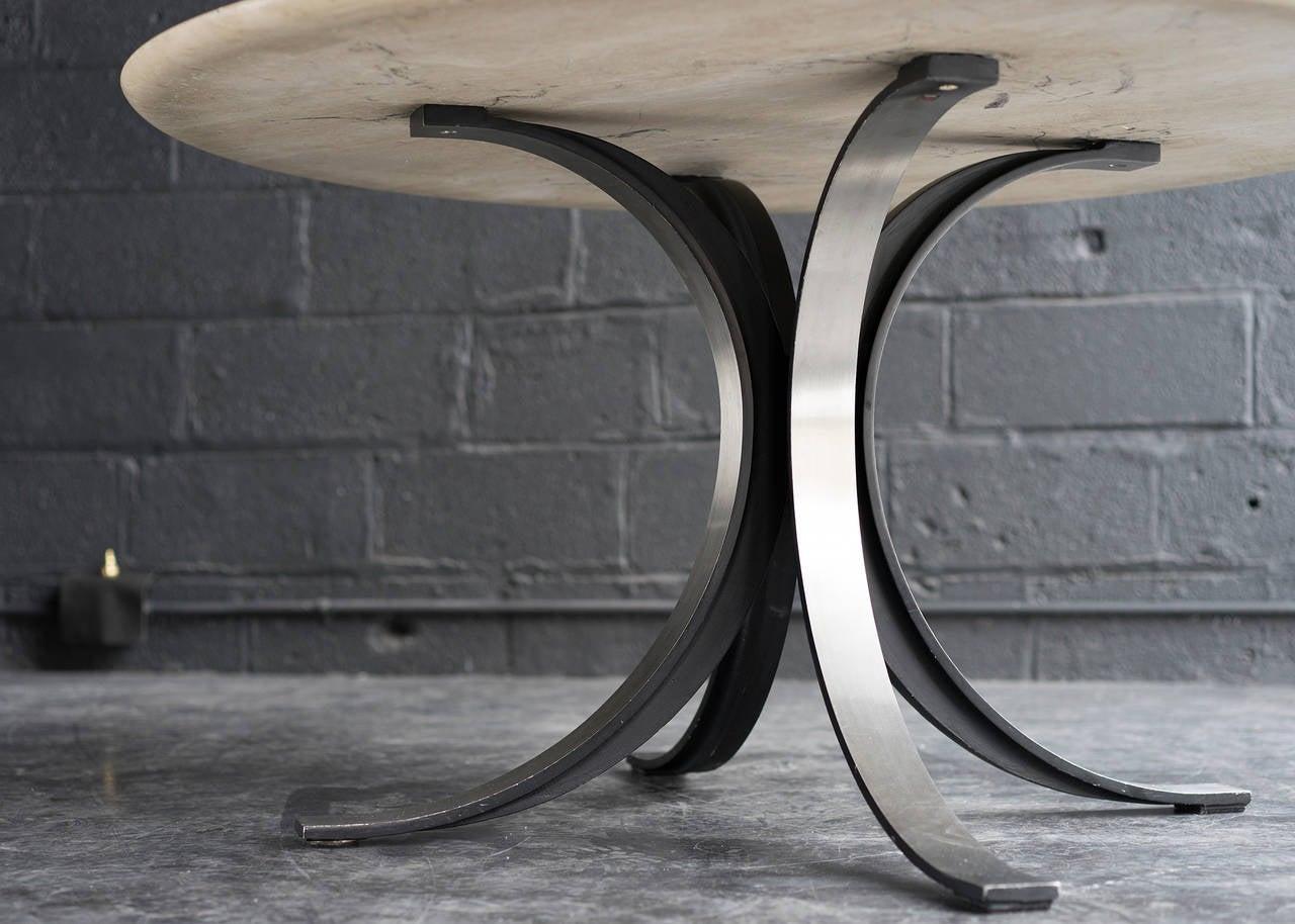 Mid-Century Modern Dining or Center Table by Osvaldo Borsani and Eugenio Gerli
