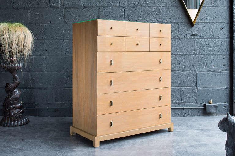 Cerused Walnut Dresser By Albert Furniture At 1stdibs