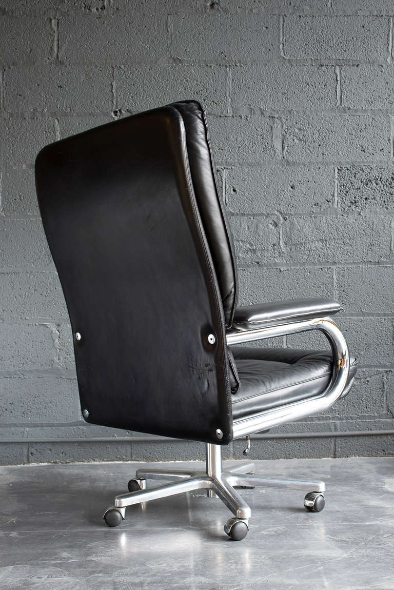 Executive Chair By Guido Faleschini At 1stdibs