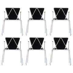 Post Modern Bieffeplast Dining Chairs