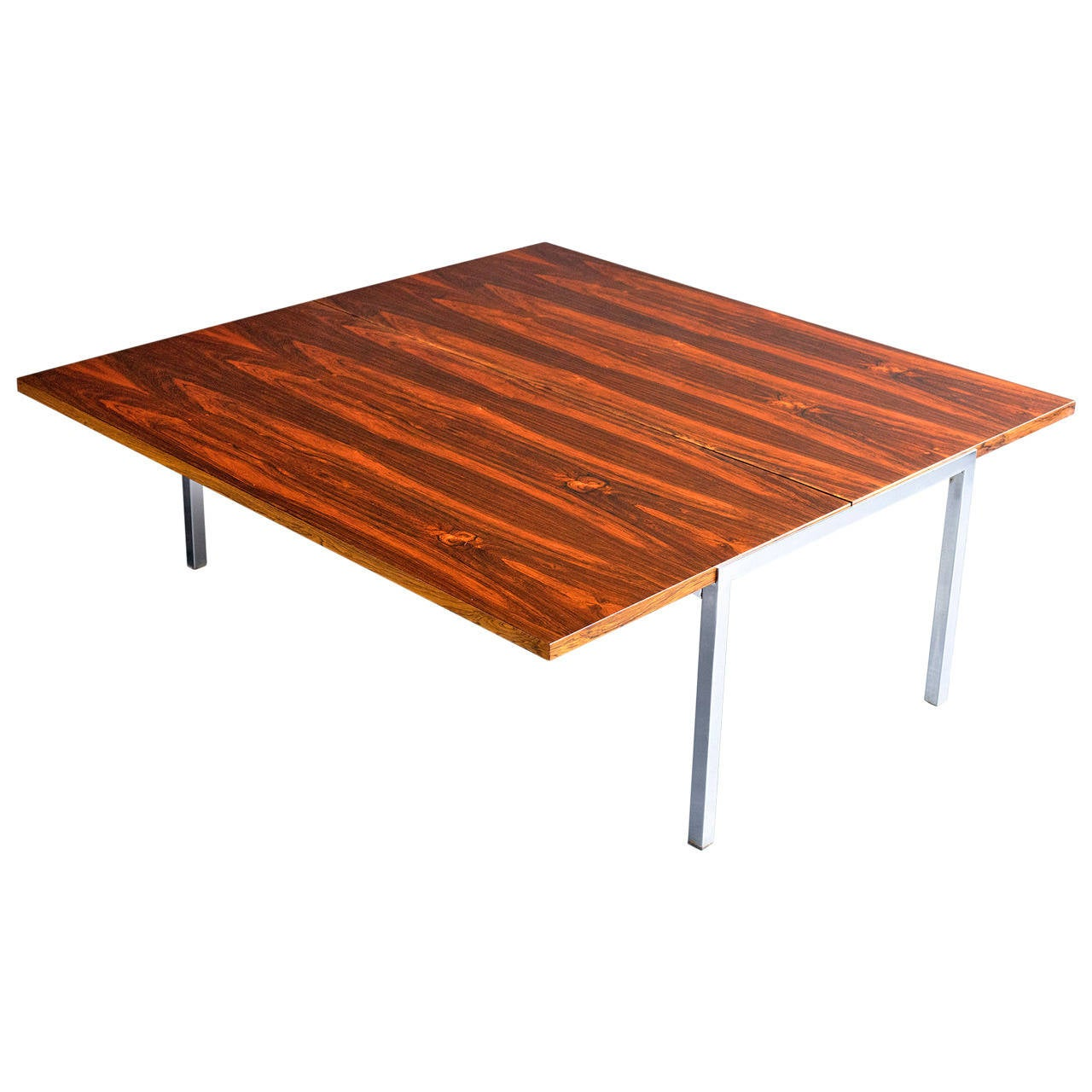 Convertible coffee table by wilhelm renz at 1stdibs - Transformable coffee table ...