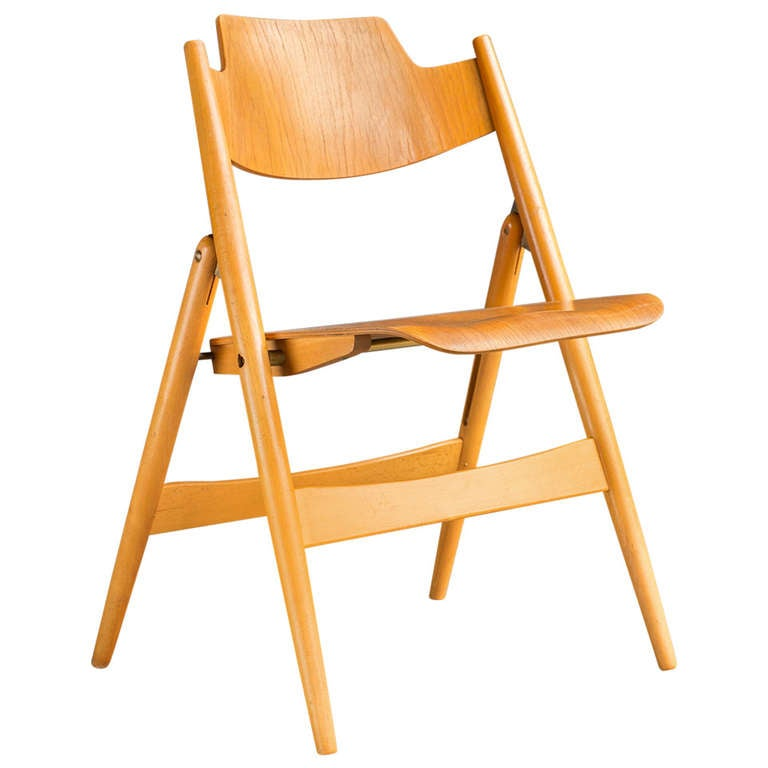 Folding Chair by Egon Eiermann For Sale