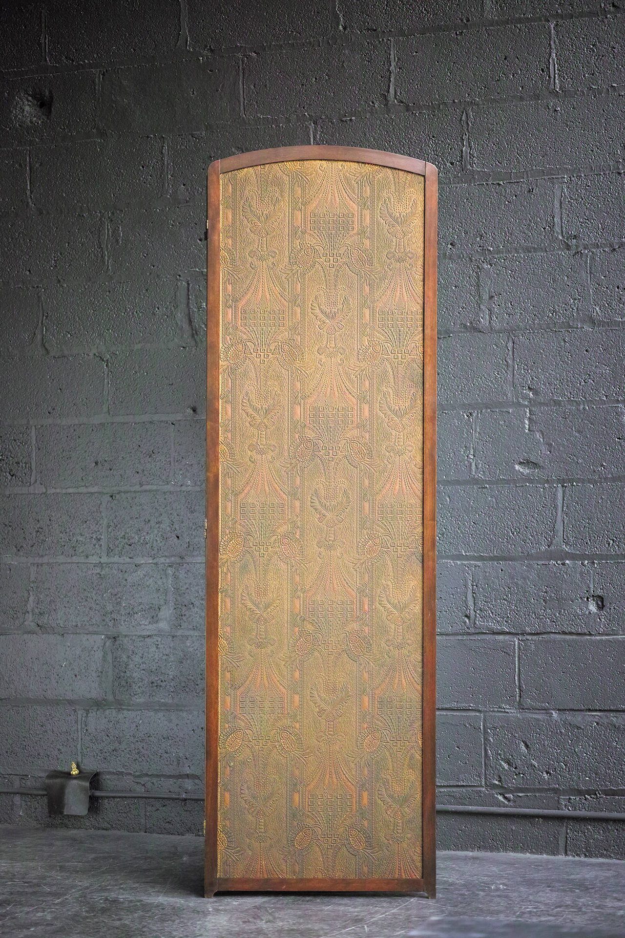 Three-Panel Folding Screen For Sale 3