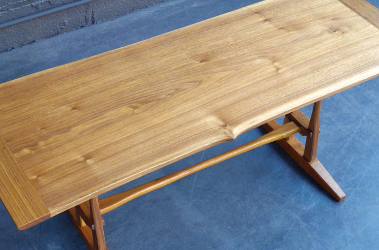 American Craftsman Michael Scaturro Coffee Table For Sale