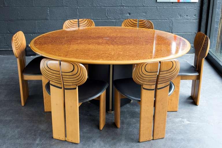 "Afra & Tobia Scarpa ""Artona"" Dining Table 3"