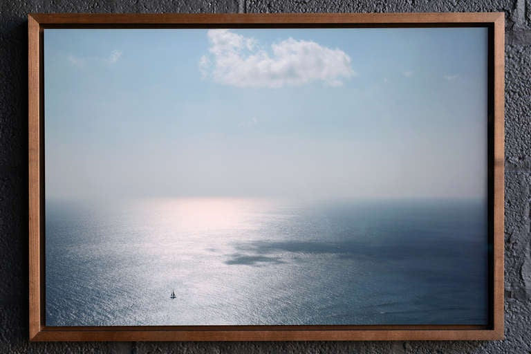 (b. 1975, American)  Here we have an edition of five c-prints available framed ($1,500) or unframed ($900). The framed version is mounted on aluminum and floats in a stained maple box frame behind museum glass. The print size is 28