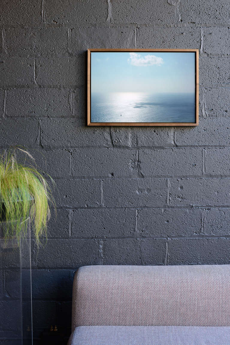 Untitled Seascape by Michael Van Horne In Excellent Condition For Sale In Brooklyn, NY