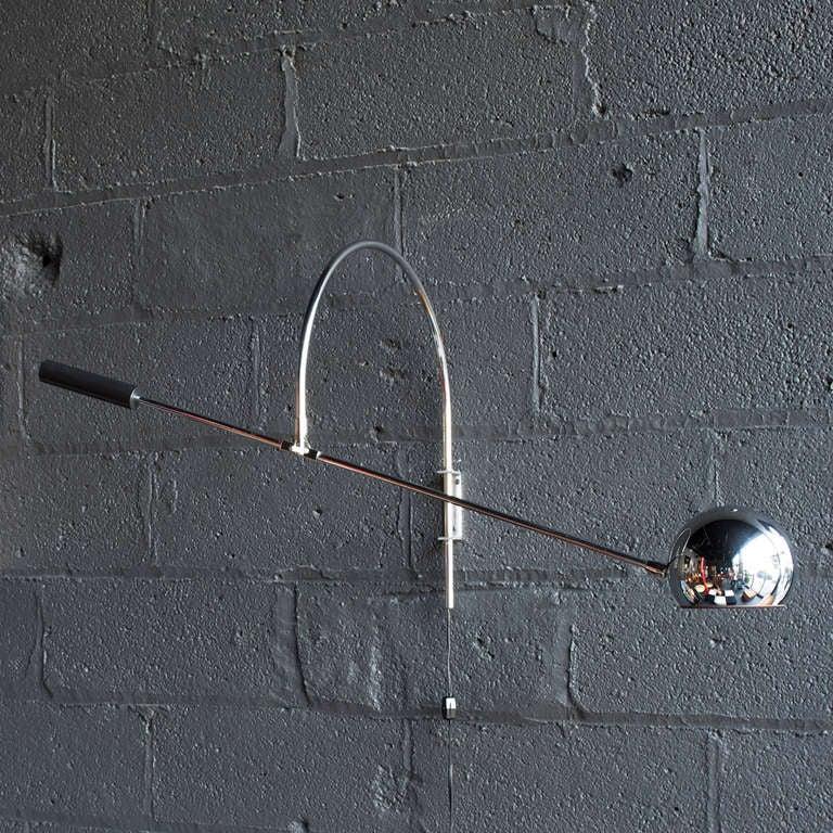 Orbiter Wall Light By Robert Sonneman At 1stdibs