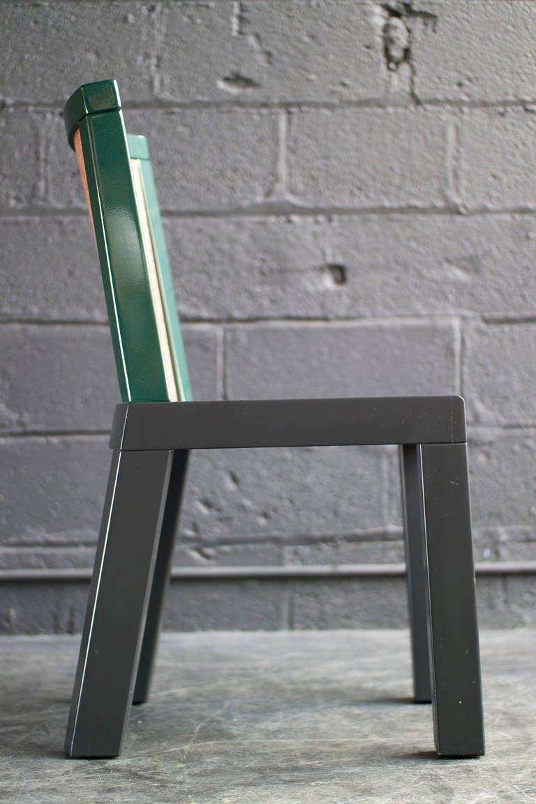 20th Century Chair by Ettore Sottsass and Marco Zanini For Sale