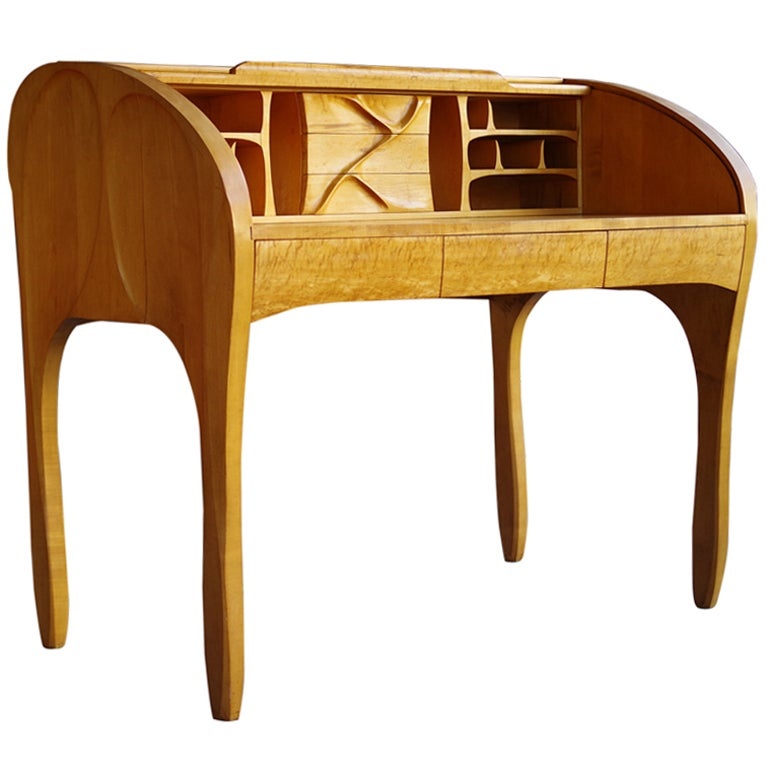 M.W. Jr American Studio Roll Top Desk
