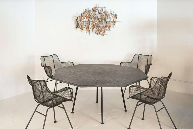 Patio Dining Table By Russell Woodard At 1stdibs