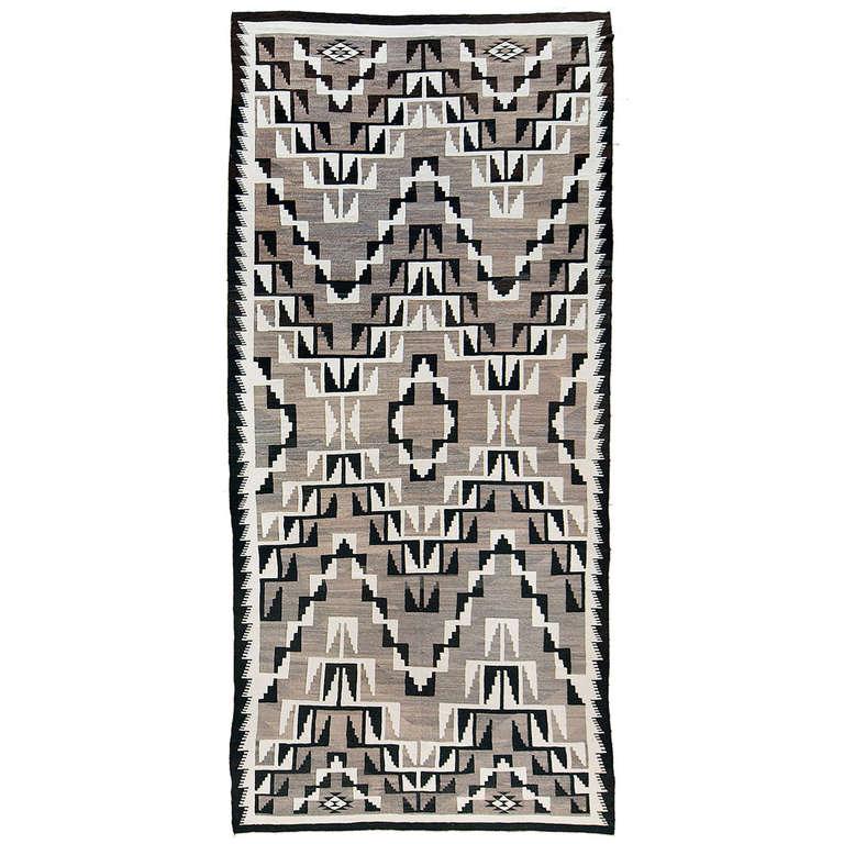 Large Native American Rug Navajo 1925 1950 At 1stdibs