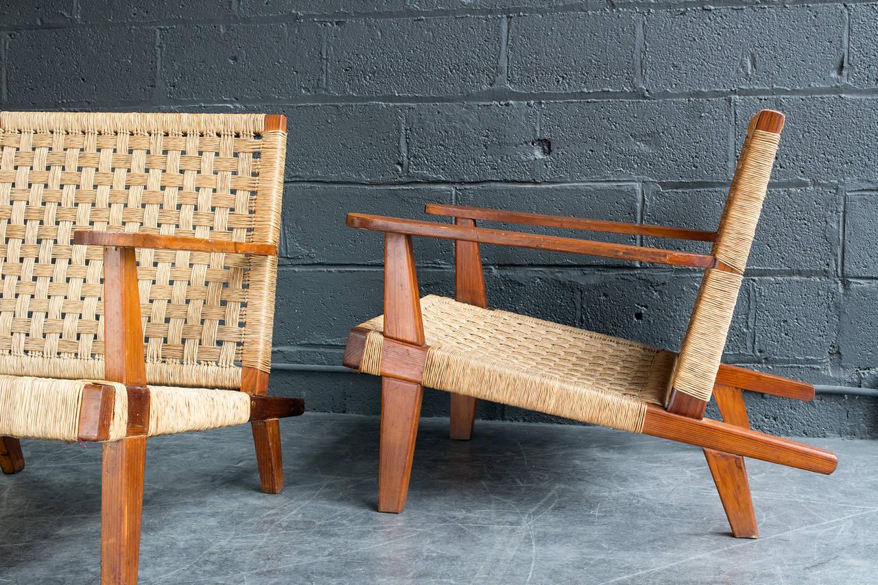 Mid-Century Modern Clara Porset Lounge Chairs For Sale