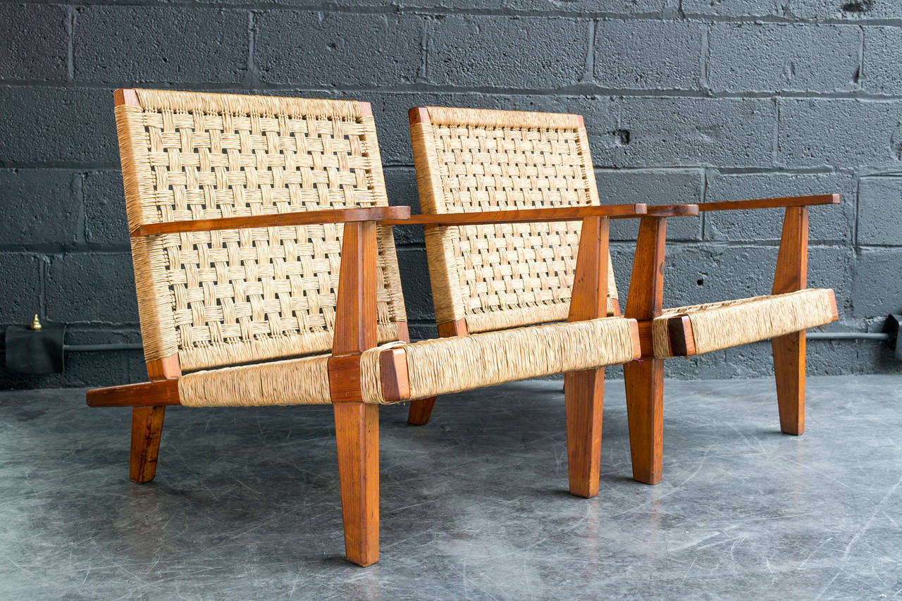 Clara Porset Lounge Chairs For Sale 1