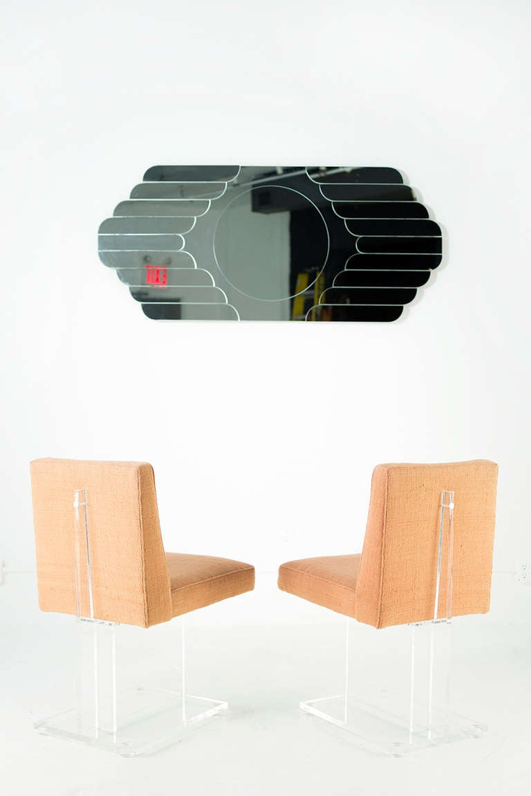 Lucite I Beam Chairs At 1stdibs