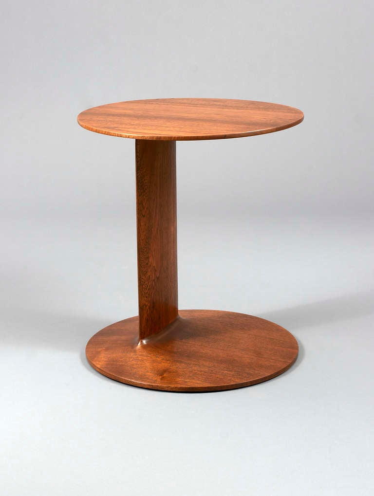 Low table in solid wood. Custom woods available.