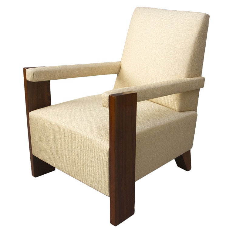 single armchair by andre sornay at 1stdibs On single armchairs