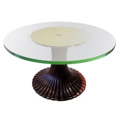 Low Circular Table by Osvaldo Borsani