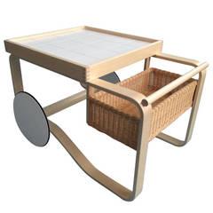 Tea Trolley 900 by Alvar Aalto for Artek