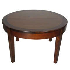 Rare Circular Table by Francis Jourdain