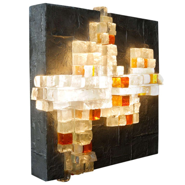 Rare Wall Light by Poliarte