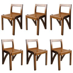 Six Italian Side Chairs