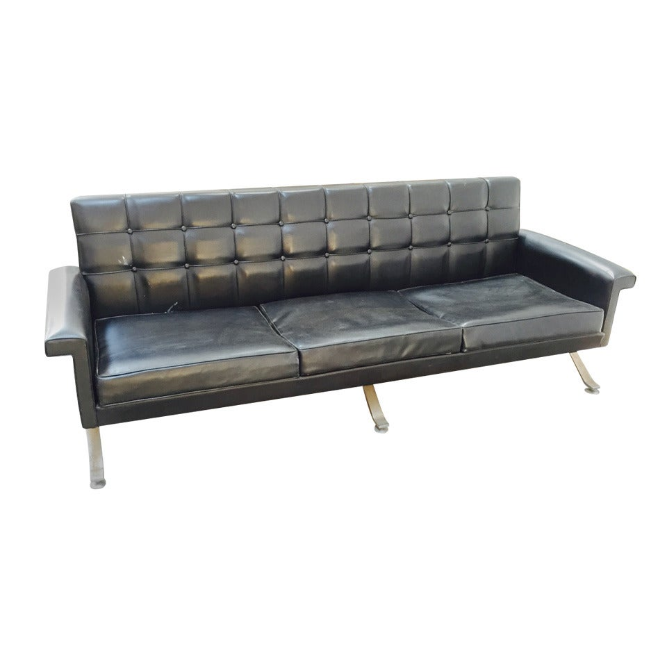Rare Sofa of 1960s by Ico Parisi for Cassina, Model 878