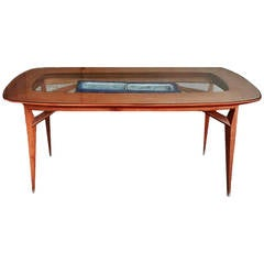 Beautiful dining table, design Vittorio Dassi 1950
