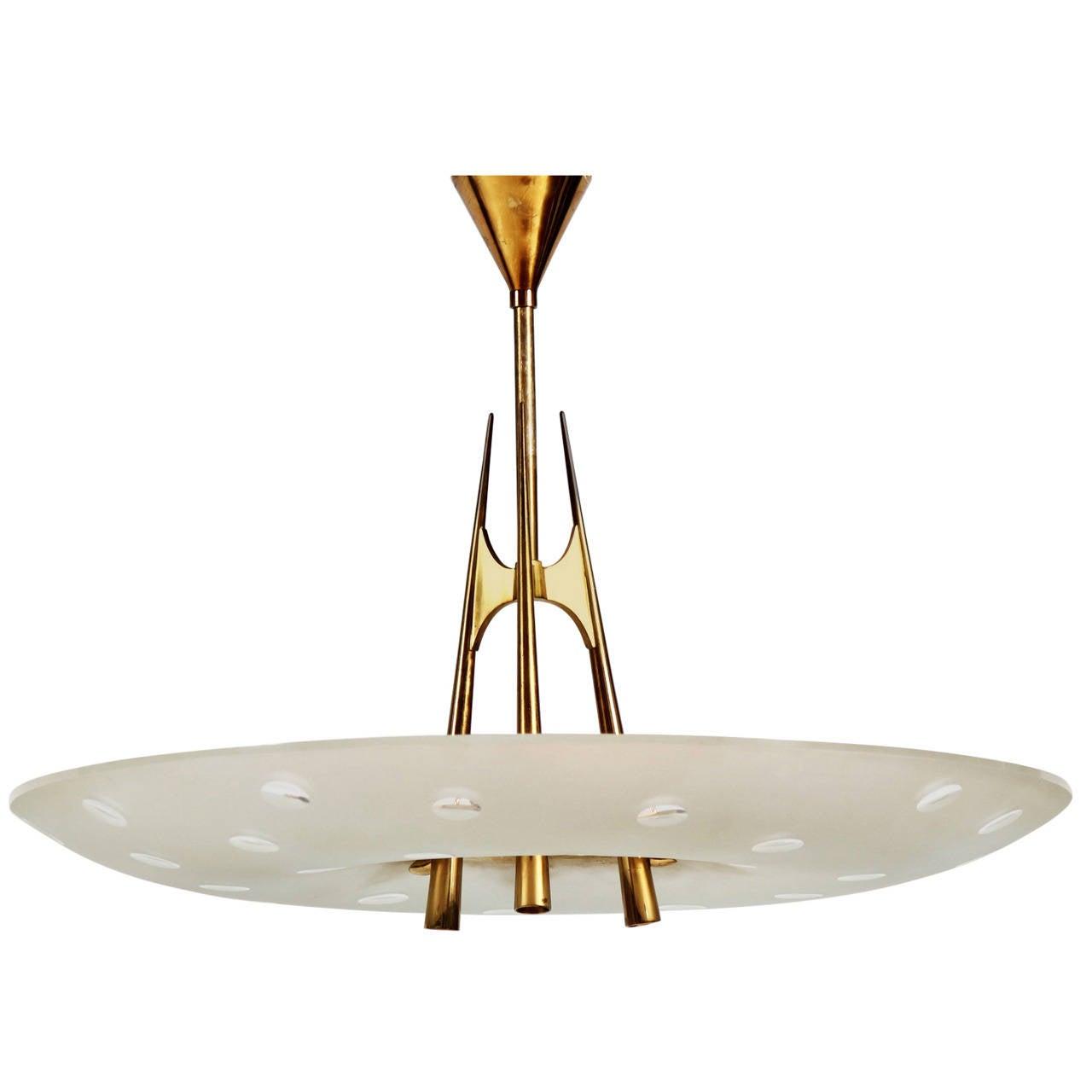 extraordinary chandelier design fontana arte by max. Black Bedroom Furniture Sets. Home Design Ideas