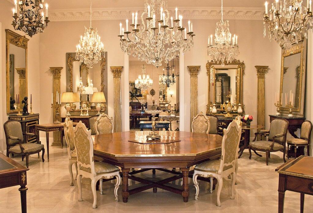 A pair of Italian Louis XVI st. giltwood armchairs 7