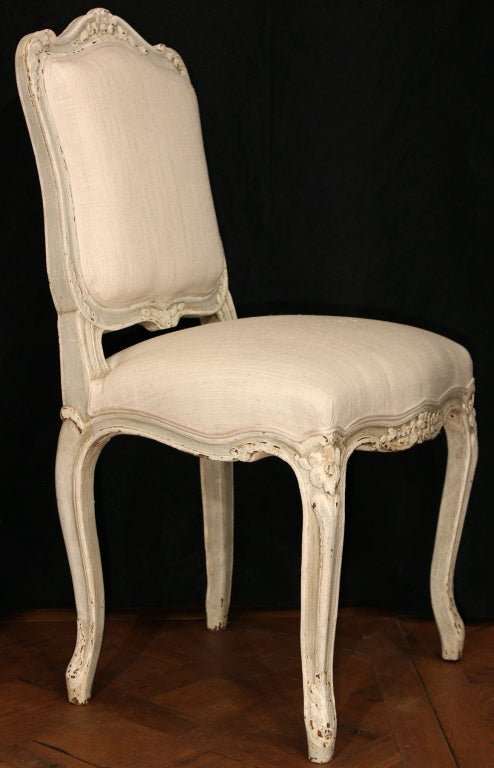 set of twelve french louis xv st dining chairs at 1stdibs