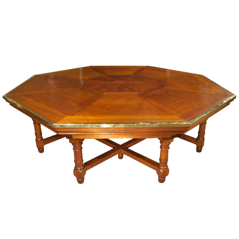 Octagon Shaped Dining Room Table