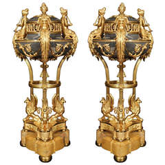 French Louis XVI Style 19th century Ormolu Brule Parfums by Paul Sormani