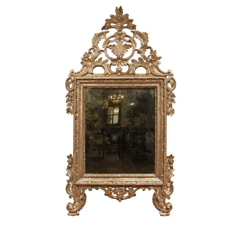 Italian 18th Century Louis XIV Period White Gold Mecca