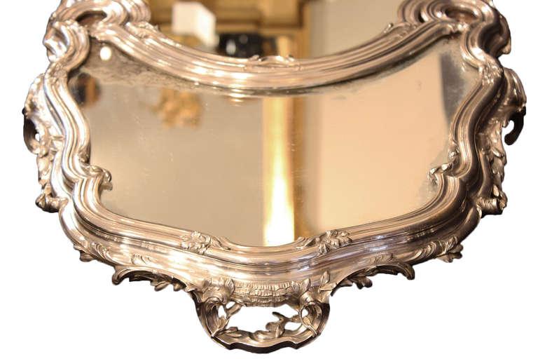 French Silvered Centerpiece, Surtout de Table, stamped Bointaburet a Paris 4