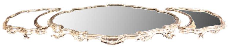 French Silvered Centerpiece, Surtout de Table, stamped Bointaburet a Paris 3