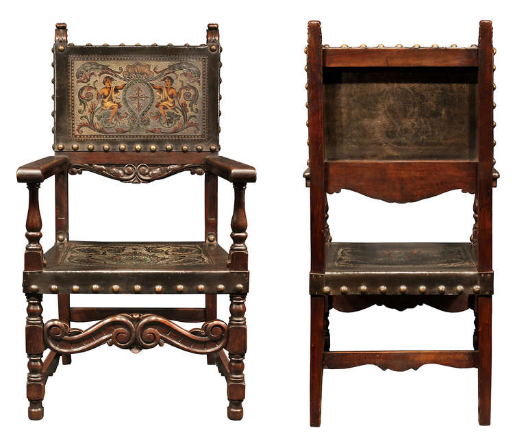 mid 19th century spanish walnut dining chairs is no longer available