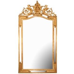 19th century French Renaissance st. giltwood mirror